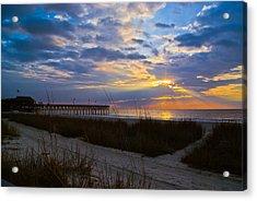 Atlantic Sunrise In March Acrylic Print