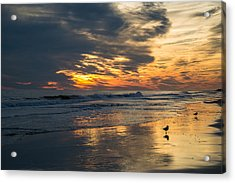 Atlantic Sunset Acrylic Print