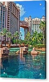 Atlantis - Bahamas Acrylic Print
