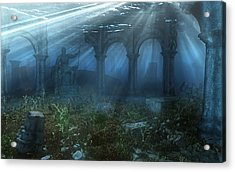 Atlantis Acrylic Print by Cynthia Decker