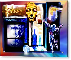 Atlantis Memory Acrylic Print by Hartmut Jager
