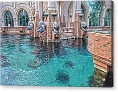 Atlantis Resort In The Bahamas Acrylic Print
