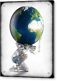 Atlas 3000 Acrylic Print by Frederico Borges