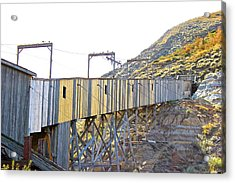 Atlas Coal Mine Fall Acrylic Print