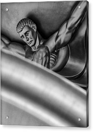 Atlas Acrylic Print by Gary Warnimont