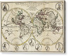 Atlas Of The World Acrylic Print by British Library