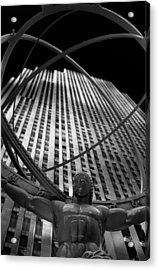 Atlas Rockefeller Center Acrylic Print