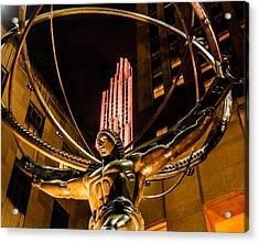 Atlas - Rockefeller Center Acrylic Print