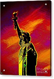 Acrylic Print featuring the photograph Atomic Liberty by Andy Heavens