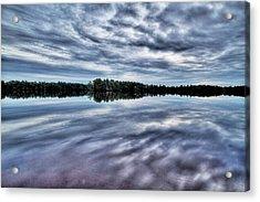 Atsion Lake II Acrylic Print