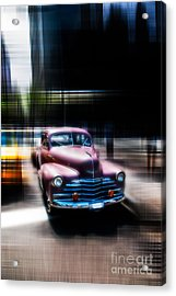 attracting curves III2 Acrylic Print by Hannes Cmarits