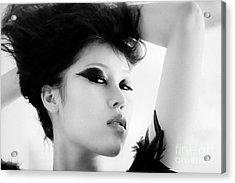 Attractive Asian Woman Acrylic Print by Fototrav Print