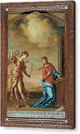 Attributed Guardi Francesco, Trinity Acrylic Print by Everett