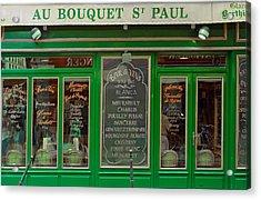 Au Bouquet St. Paul Acrylic Print by Matthew Bamberg