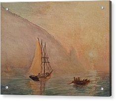 Au-dag After I. K. Aivazovsky Acrylic Print