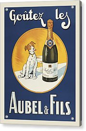 Aubel And Fils Acrylic Print by Vintage Images