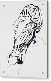 Aubrey Beardsley Acrylic Print by Stevie Taylor