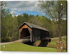 Auchumpkee Creek Covered Bridge Acrylic Print
