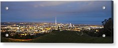 Auckland Nights Acrylic Print by David Yack