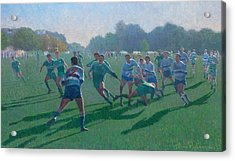 Auckland Rugby Acrylic Print by Terry Perham