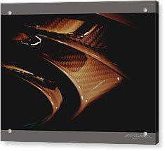 Audi 2014 Rs7 Carbon Fibre Exhaust  Acrylic Print