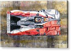 Audi R15 Tdi Le Mans 24 Hours 2010 Winner  Acrylic Print