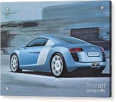 Audi R8 Lemans Concept Acrylic Print by Paul Kuras