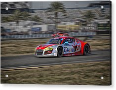 Audi R8 Lms Acrylic Print