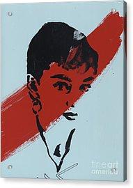 Audrey 5 Acrylic Print