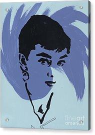 Audrey 6 Acrylic Print by Jason Tricktop Matthews