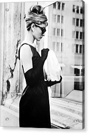 Audrey At Tiffanys Acrylic Print