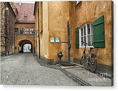 Acrylic Print featuring the photograph Augsburg Germany by Paul Fearn