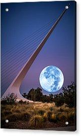 August Moon Acrylic Print