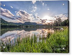August Sunset Acrylic Print