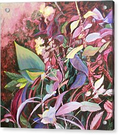 August Tangle Acrylic Print