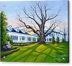 Augusta National Clubhouse Acrylic Print
