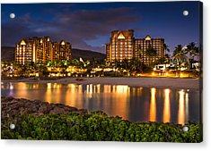 Aulani Disney Resort At Ko Olina Acrylic Print