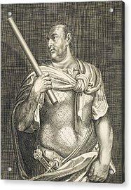 Aullus Vitellius Emperor Of Rome Acrylic Print by Titian