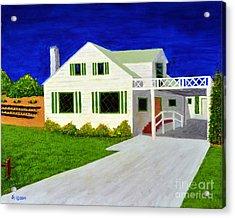 Auntie's House Acrylic Print