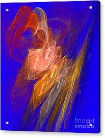 Aurora Blue Acrylic Print