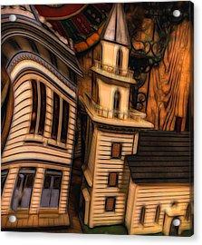 Aurora Doll House Acrylic Print