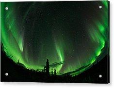 Aurora Embrace Acrylic Print