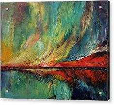 Aurora Dance Acrylic Print by Michael Creese