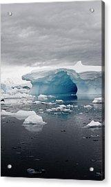 Aurora Passage, Antarctica Acrylic Print by Janet Muir