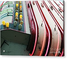 Aurora Theater Marquee - Detail Acrylic Print by Tom Brickhouse