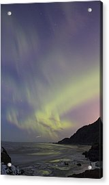 Auroras Over Cook Inlet Acrylic Print by Tim Grams