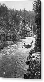 Ausable River Rapids Acrylic Print