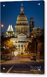 Austin Congress Avenue Acrylic Print
