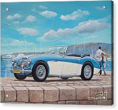 Austin Healey Bj8 Mark IIi Acrylic Print