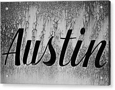 Austin Acrylic Print by Mark Weaver
